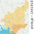 船橋市と習志野市の地図 1441918