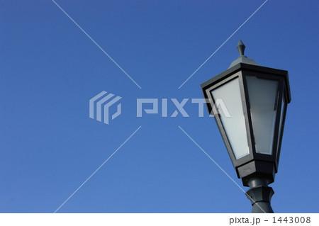 街灯のある空イメージ(横 その1) 1443008