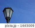 街灯のある空イメージ(横 その2) 1443009