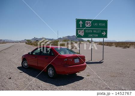赤い車 1452767