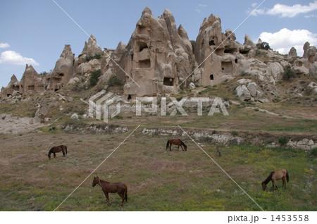 カッパドキアの廃墟 1453558