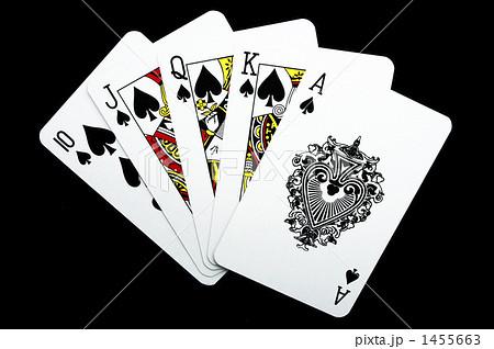 ポーカー ロイヤルストレートフ...