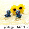 夏~シーサーとひまわり 1476932