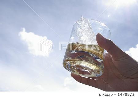 ペリトモレノ氷河の氷で作ったオンザロックで乾杯 1478973