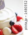 ケーキ 生クリーム 洋菓子の写真 1480352