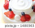 ケーキ 生クリーム 洋菓子の写真 1480363