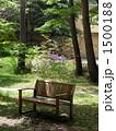 木陰のベンチ 1500188