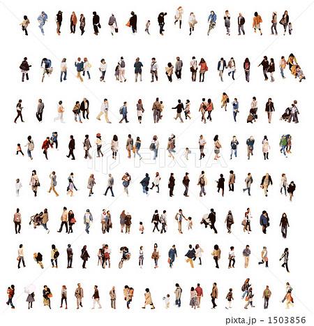 人々のイラスト素材 1503856 Pixta