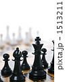 チェスボード ボードゲーム 駒の写真 1513211