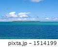 海面 リゾート 風景の写真 1514199