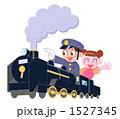 機関車 SL 子供のイラスト 1527345