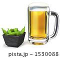 発泡酒 生ビール ジョッキのイラスト 1530088