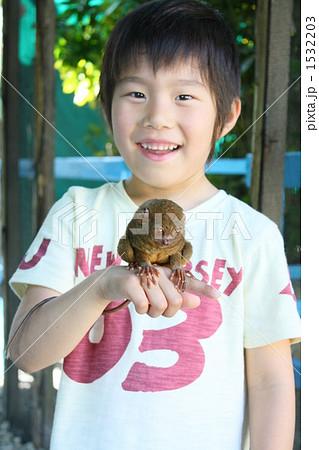世界最小手乗り猿「ターシャ」 1532203