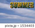SUMMER_向日葵_空 1534403