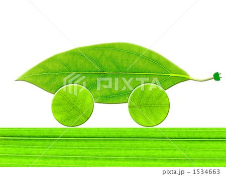 葉っぱのエコカー 1534663