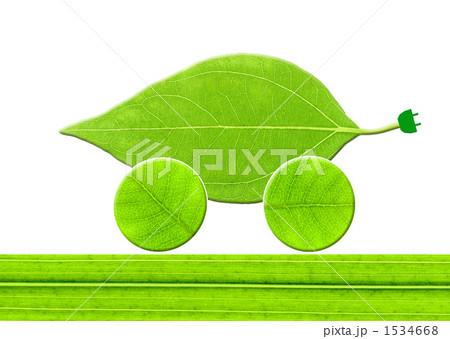 葉っぱのエコカー 1534668