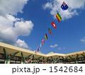 運動会の万国旗 1542684
