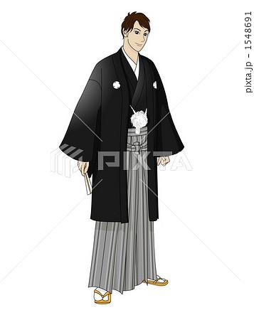 袴のイラスト素材 1548691 Pixta