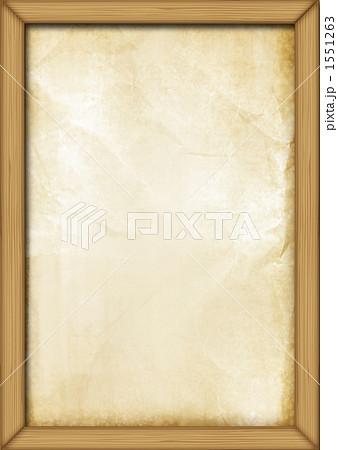木枠と紙のイラスト素材 1551263 Pixta