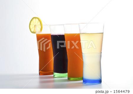 ソフトドリンク ジュース 搾りたての写真素材 [1564479] - PIXTA