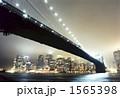 ブルックリンブリッジとマンハッタン 1565398
