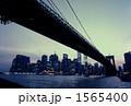 ブルックリンブリッジとマンハッタン 1565400