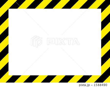 危険フレームのイラスト素材 1588490 Pixta