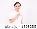 医療 ナース 白衣の写真 1593235