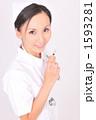 医療 ナース 白衣の写真 1593281