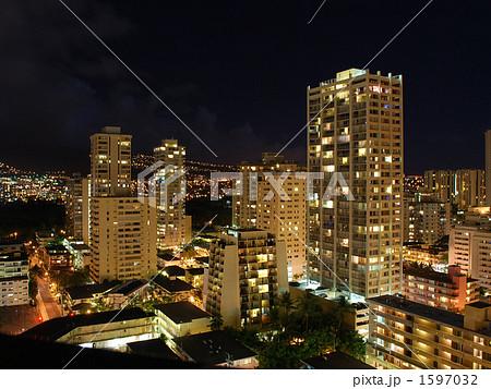 ハワイの夜景 1597032