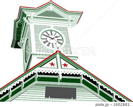 時計台のイラスト素材 1602881 Pixta
