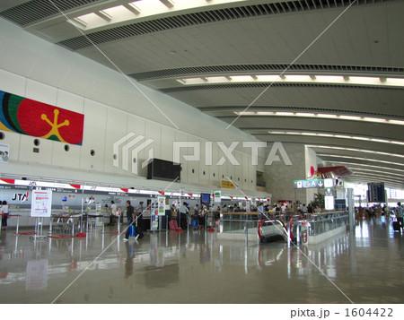 那覇空港 チケットロビー 1604422