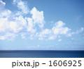 青い海 海面 水平線の写真 1606925