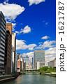オフィス街 都市風景 ビル群の写真 1621787