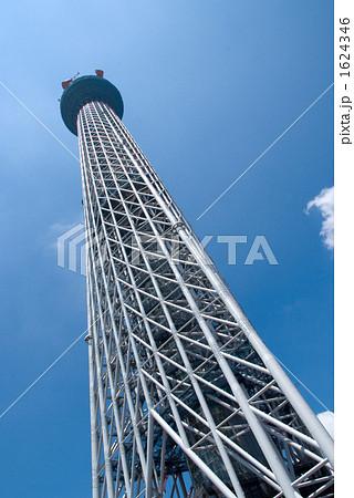 東京スカイツリー斜め 1624346