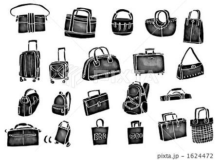 服飾雑貨 かばん 鞄のイラスト素材 1624472 Pixta