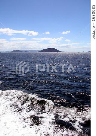 波しぶき 小豆島 ボート 1630085