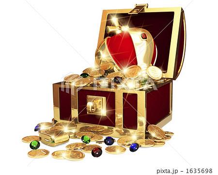 宝の箱のイラスト素材 [1635698] - PIXTA