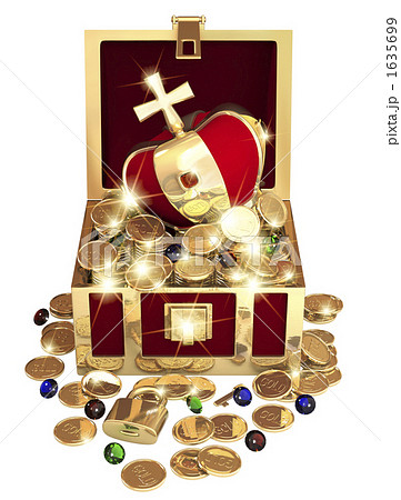 宝の箱のイラスト素材 [1635699] - PIXTA