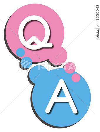 Q&A アイコンのイラスト ...