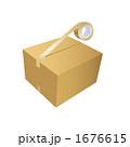 梱包テープ ガムテープ 梱包のイラスト 1676615