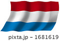 旗 国旗 オランダのイラスト 1681619