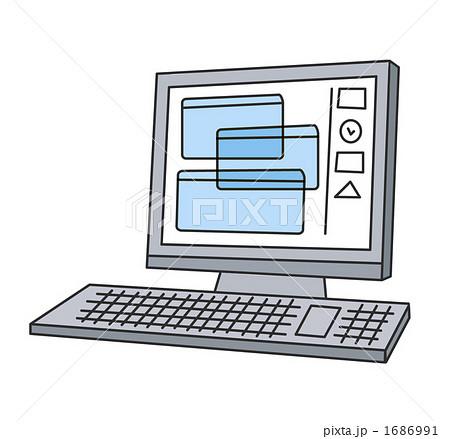 イラスト素材: パソコン・画面 ... : パソコンのキーボード : すべての講義