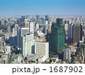 都市風景 オフィス街 ビル群の写真 1687902