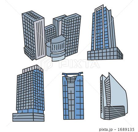 コレド日本橋新丸ビル丸ビル六本木ヒルズ丸の内オアゾのイラスト