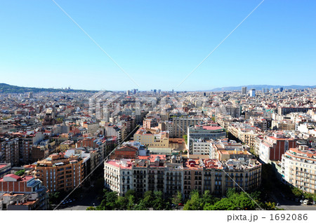 バルセロナ市街地 1692086