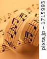 音符イメージ 楽譜イメージ 譜面イメージの写真 1715993