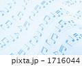 五線紙 楽譜イメージ 譜面イメージの写真 1716044