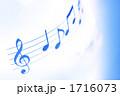 音符イメージ 楽譜イメージ 譜面イメージの写真 1716073