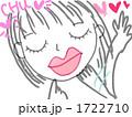 投げキッス 女の子 キス 1722710